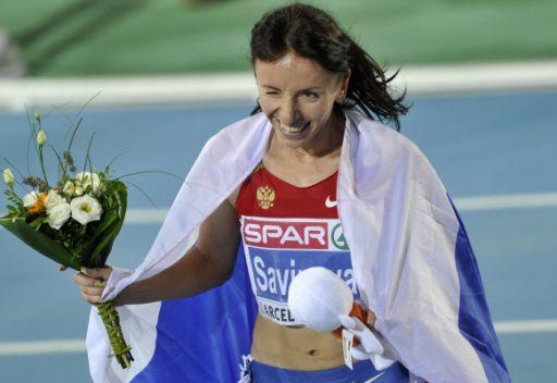 سافينوفا تحرز ذهبية سباق 800 متر في بطولة العالم لألعاب القوى