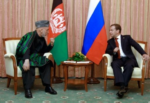 مدفيديف يدعو باكستان وافغانستان الى بذل مزيد من الجهود لضمان مسائل الامن