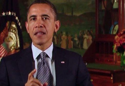أوباما: وفاة القذافي أظهرت أننا نجحنا في حماية الليبيين