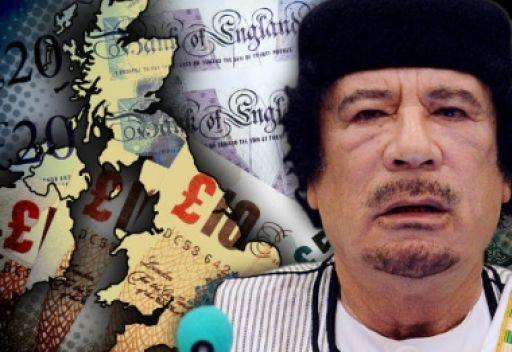 صحيفة أمريكية: أرصدة القذافي في الخارج تزيد بضعفين عن الناتج المحلي الإجمالي الليبي قبل الحرب