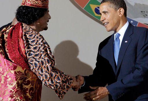 اوباما ينتقد بث لقطات مقتل القذافي ويصف نهايته بالرسالة للحكام المستبدين