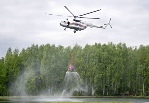 العثور على مروحية فقدت في شرق سيبيريا