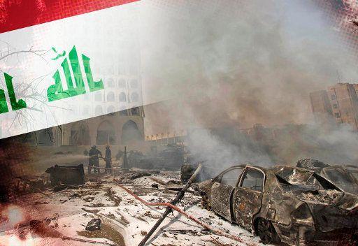 مقتل 18 شخصا واصابة العشرات في تفجير مزدوج وسط بغداد