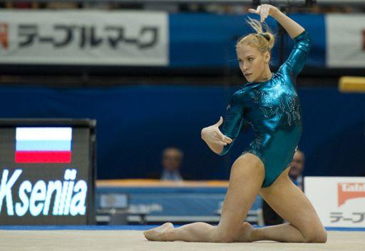 الروسية افاناسيفا بطلة للعالم في الجمباز
