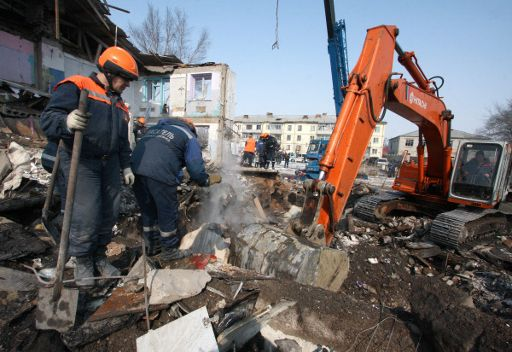 مقتل شخصين في انفجار غاز بضواحي موسكو