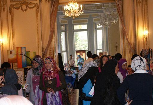 الاسكندرية... سوق خيرية في المركز الروسي للثقافة والعلوم