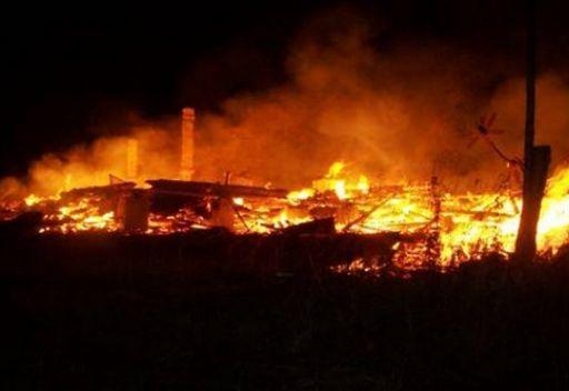 مصرع 9 اشخاص في حريق باقليم كراسنويارسك
