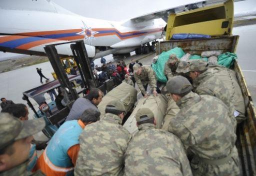 وزارة الطوارئ الروسي ترسل دفعة اخرى من المساعدات الى تركيا المتضررة من الزلزال المدمر