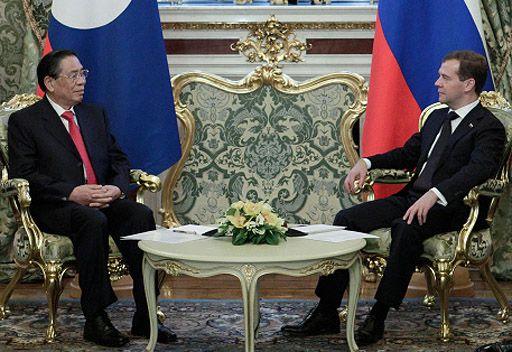 روسيا ولاوس تؤيدان استئنافا مبكرا للمفاوضات السداسية بشأن القضية النووية لشبه جزيرة كوريا