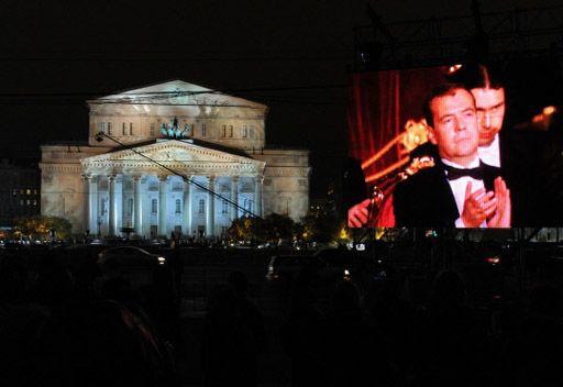 مسرح البولشوي يفتتح اكبر خشبة مسرح في اوروبا