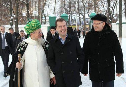 الرئيس الروسي يعول على مساندة القيادة الدينية في مكافحة التطرف