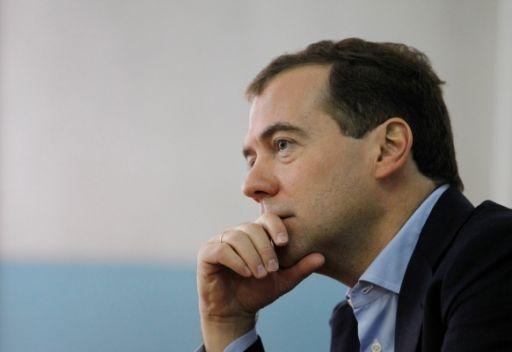 مدفيديف: روسيا مستعدة لمساعدة اوروبا في إنعاش اقتصادها عن طريق صندوق النقد الدولي