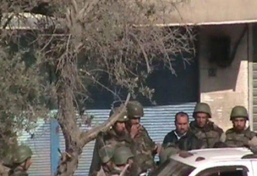 اعتقالات من قبل الامن السوري في حي حرستا