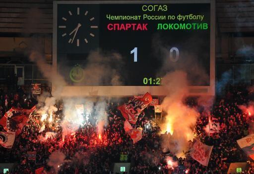 دربي العاصمة موسكو يكلف سبارتاك ولوكوموتيف 12 ألف دولار