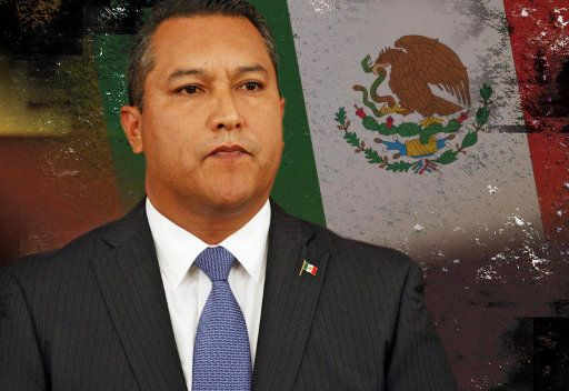 وزير الداخلية المكسيكي فرانسيسكو بليك مورا