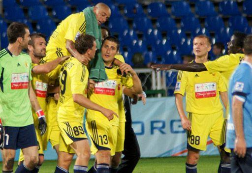أنجي يفوز على ضيفه كريليا سوفيتوف في الدوري الروسي