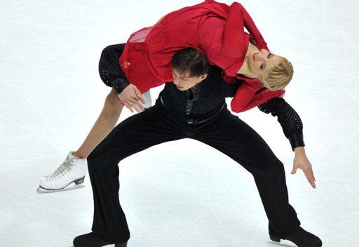روسيا تحرز ذهبية الرقص الفني على الجليد