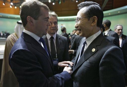مدفيديف: بامكان روسيا وجمهورية كوريا التعاون في ميدان التكنولوجيات العالية