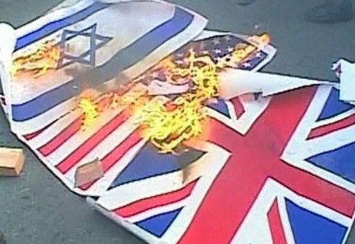 محتجون يقتحمون مبنى آخر تابع للسفارة البريطانية في طهران