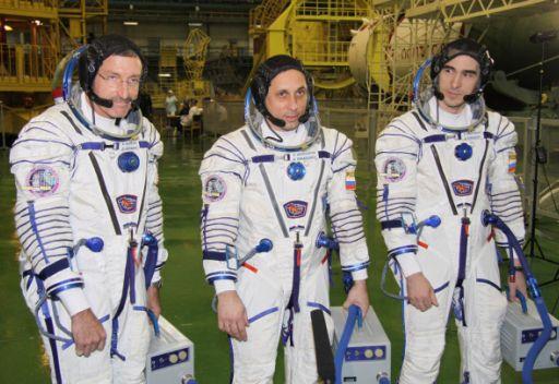 أفراد الطاقم الجديد للمحطة الفضائية الدولية واثقون بنجاح رحلتهم الفضائية