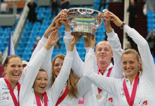 تشيكيا بطلة لكأس الاتحاد لتنس السيدات على حساب روسيا