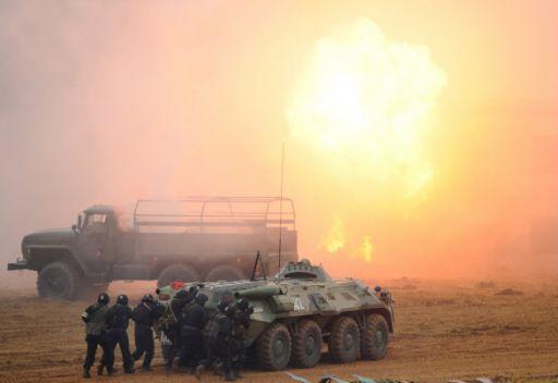 وقوع انفجارات في مستودعات الذخائر ببلغاريا