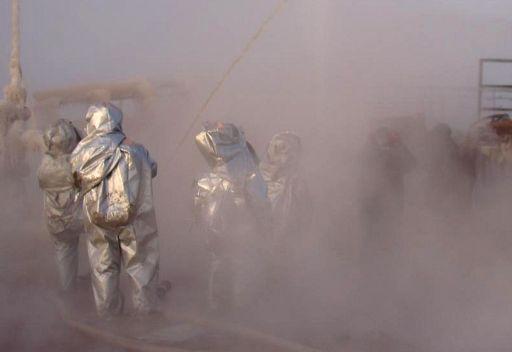 حريق في مصنع كمياوي بجنوب روسيا يؤدي إلى وقوع إصابات