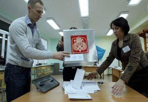 النتائج الأولية للانتخابات البرلمانية الروسية