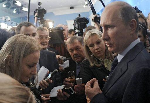 بوتين لم يبت بعد في قضية المشاركة في المناظرات مع الطامحين الاخرين بمنصب الرئاسة