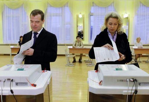 نسبة المشاركة في انتخابات الدوما الروسي تبلغ 50،4% عند الساعة السادسة مساء