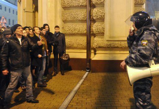 روسيا  بانتظار تظاهرات حاشدة يوم السبت احتجاجا على نتائج الانتخابات البرلمانية