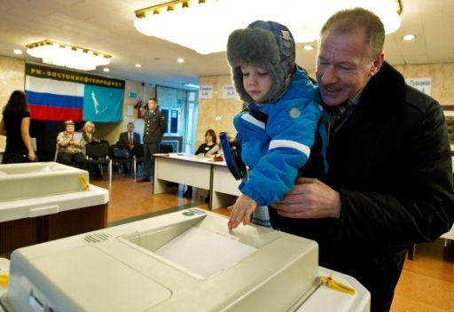 الروس يتوجهون الى صناديق الاقتراع لانتخاب أعضاء مجلس الدوما