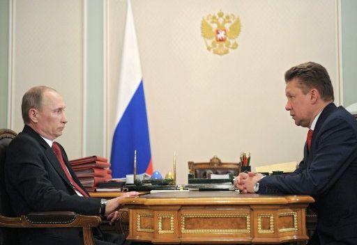 بوتين يطلب الإسراع ببدء مد خط انابيب الغاز