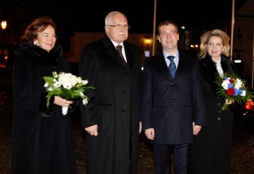 التعاون في مجال الطاقة النووية في صلب محادثات مدفيديف مع القيادة التشيكية