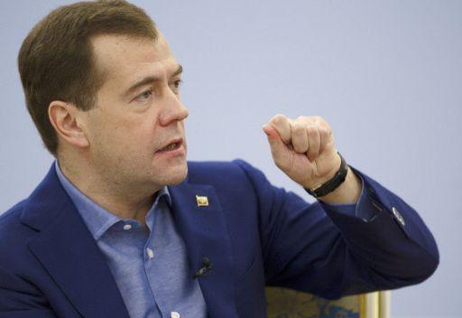 الرئيس الروسي دميتري مدفيديف