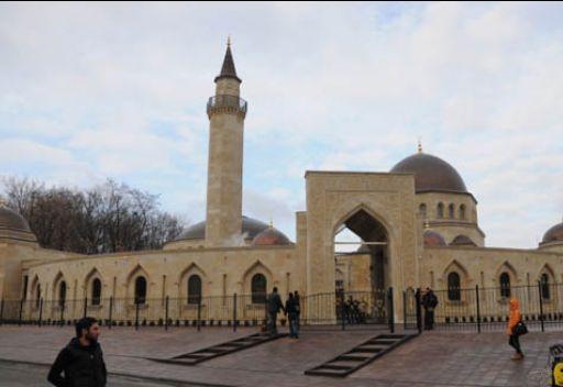 افتتاح جامع في اوكرانيا في احتفال مهيب