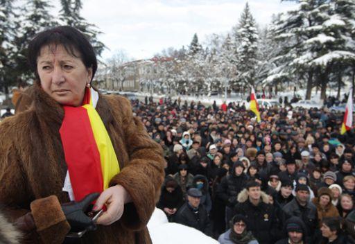 اوسيتيا الجنوبية...زعيمة المعارضة تقرر انهاء الاحتجاجات