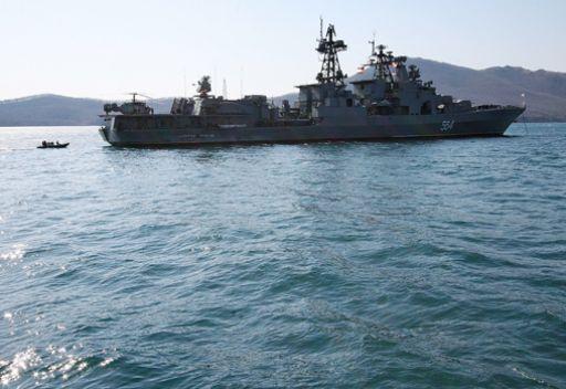 مجموعة سفن حربية روسية تتوجه الى القرن الافريقي