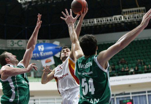 أونيكس الروسي يهزم غلطة سراي التركي بكرة السلة