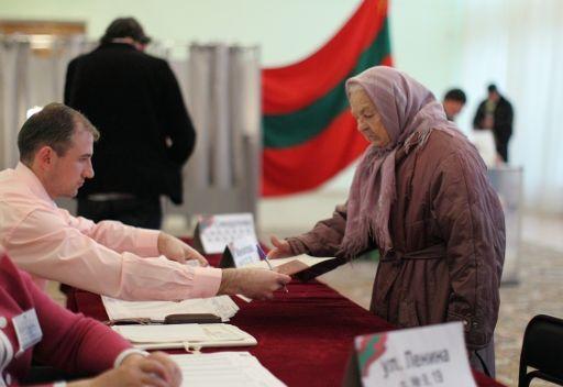 تقدم المرشح شيفتشوك في الانتخابات الرئاسية في ترانسنيستريا