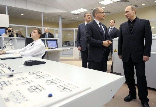 تدشين المفاعل الرابع في محطة كالينينسكايا الكهرذرية في مقاطعة تفير الروسية
