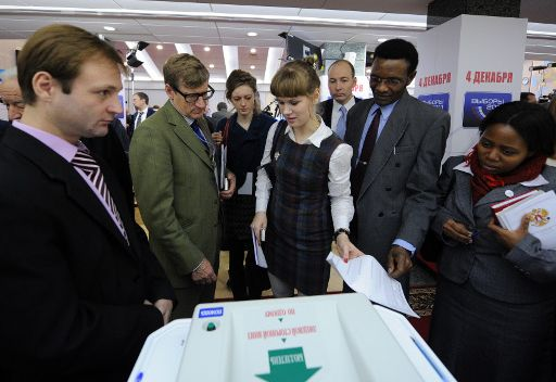 المراقبون الدوليون في الانتخابات البرلمانية الروسية