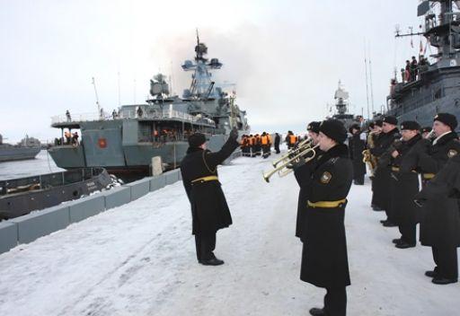 ثلاث سفن حربية روسية ستقوم بجولة في البحر الأبيض المتوسط في يناير/كانون الثاني