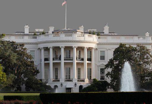 البيت الابيض في واشنطن