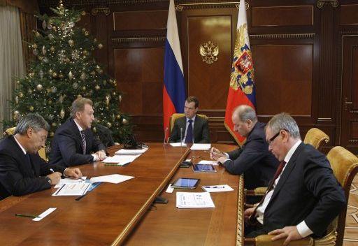 مدفيديف: نمو اقتصاد روسيا في 2011  افضل مما كان عليه في السنوات الاخيرة