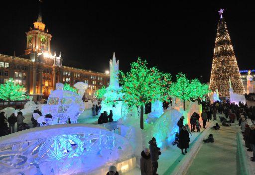 أول مدينة من الثلج في روسيا ستظهر في موسكو