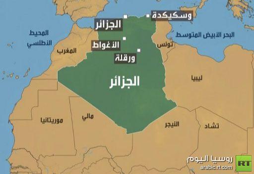10 جرحى واعتقالات على اثر اشتباكات بين قوات الأمن والمحتجين في الأغواط  الجزائرية