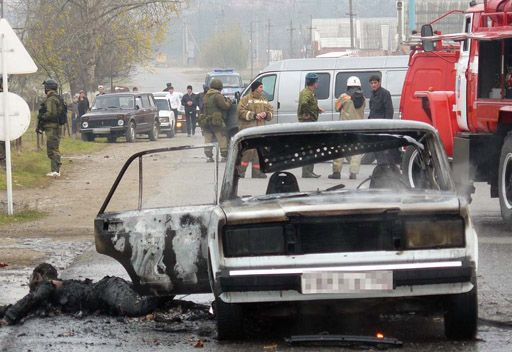 تصفية قائد عصابة من حاشية باسايف في انغوشيا