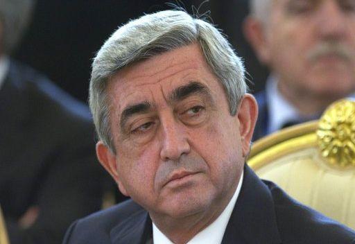 رئيس ارمينيا يشكر الرئيس الفرنسي على اقرار قانون انكار