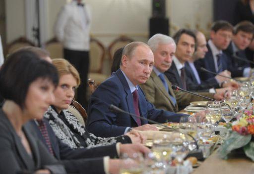 فلاديمير بوتين: بودي ان تكون الانتخابات الرئاسية شفافة ونزيهة الى أقصى حد